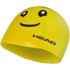 Head Silicone Sketch Cap yellow face